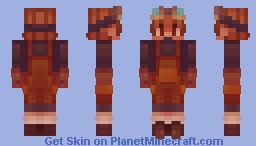 Copper Golem | Mob Vote Minecraft Skin