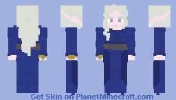 Periwinkle and Gold | LOTC Minecraft Skin