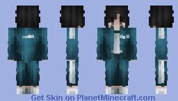 Kang Sae-Byeok | Squid Game Minecraft Skin