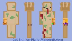 Zombie Bread Minecraft Skin