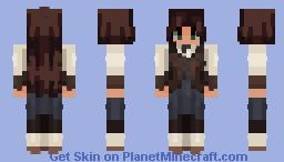 shape of lies   remake Minecraft Skin