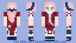 Sakura Haruno | 1.8+ Minecraft Skin