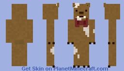 Trigger Teddy - Dark Deception Minecraft Skin