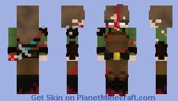 [ce] a survivor no more Minecraft Skin