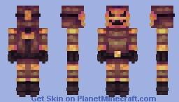 Pumpkin Suit Minecraft Skin