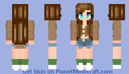 cottage core Minecraft Skin