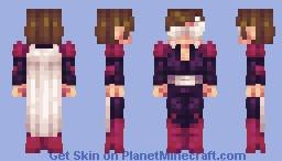 Young Sliver - Kamen Rider Minecraft Skin