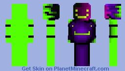 Shaded - Non glitched eyes dream Minecraft Skin