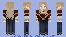 poof she's an elf Minecraft Skin