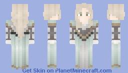 soft blue claudia Minecraft Skin