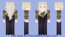 she's growing up Minecraft Skin