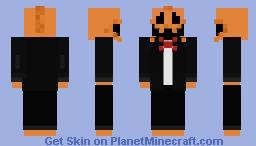 PumpkinMan for skintober day 20! Minecraft Skin