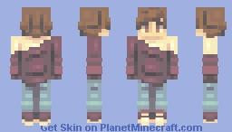 //Good Bye To A World// Minecraft Skin