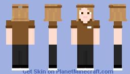Day 22 Coffee Minecraft Skin