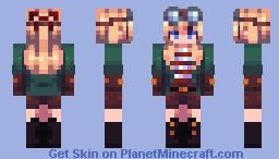 Falsesymmetry Skin Remake Minecraft Skin