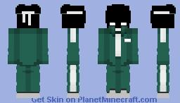 Player 404 | Squid Game Minecraft Skin