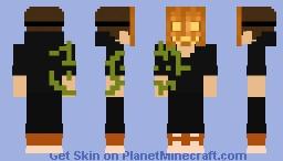 Pumpkin Face Minecraft Skin