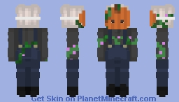 Pumpkin Faced Trick-or-Treater ❀ Minecraft Skin