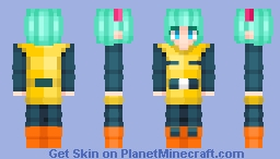 Bulma - Dragon Ball Nameka Saga / Request Minecraft Skin