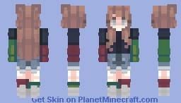 akari Minecraft Skin