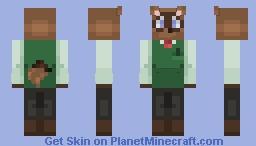 Tom Nook Minecraft Skin