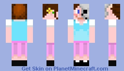 Two-Faced Minecraft Skin