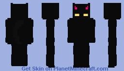Black Cat [OC] Minecraft Skin