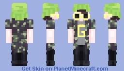 GORB-OWERLORD DOGE (повелитель цветов дож) Minecraft Skin