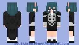 Student Female Byleth | Fire Emblem Three Houses Minecraft Skin