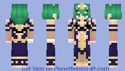 Female Byleth (Sothis Outfit) | Fire Emblem Three Houses Minecraft Skin