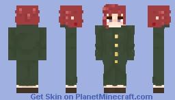 Noriaki Kakyoin | JJBA | 𝓬𝓪𝓽𝓵𝓾𝓷𝓰𝓼~ Minecraft Skin