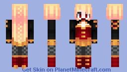 Oc ~~ Queen Of Embers [Diplomatic Uniform] Minecraft Skin