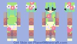 vines Minecraft Skin