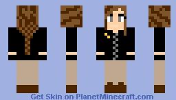 Katniss Everdeen Minecraft Skin