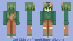 pickle // 𝓵𝓲𝓵𝔂 𝓫 Minecraft Skin