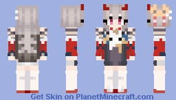 Azur Lane - IJN Hibiki (New Year's Little Imp) Minecraft Skin