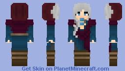 Sorceress Eris Quinn Minecraft Skin