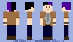 Kat Waylon Park (Outlast The Whistle Blower) Minecraft Skin