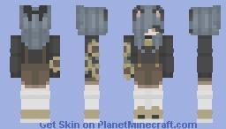 Sunflower Cat Minecraft Skin
