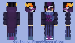 Even if you can't see, the good inside me -Eridan Ampora- +Homestuck+ Minecraft Skin