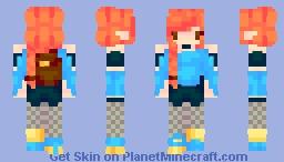 Into Fire - Nether Explorer Minecraft Skin