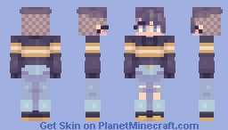 here's my once a month upload Minecraft Skin