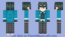 [Ensemble Stars!] Mika Kagehira Minecraft Skin
