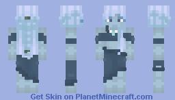 Tsunami, the Nymph Princess Minecraft Skin