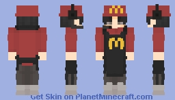 mcdonalds Minecraft Skin