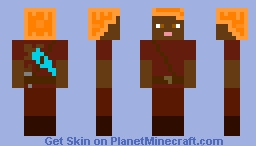 Nether Explorer | Depth of the Nether Minecraft Skin Contest Minecraft Skin