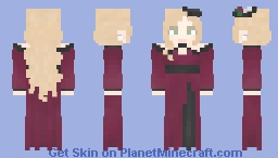 Boysenberry Outfit Minecraft Skin