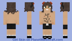 """""""This is Angus Young to his Friends, to his Enemies, Angus without the G..."""" Minecraft Skin"""