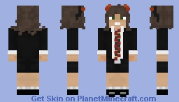 Angus Young Classic Minecraft Skin