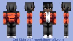 North face puffer jacket Minecraft Skin